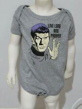 Star Trek Spock Baby Toddler Boys One Piece Bodysuit 18-24 Months