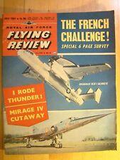 RAF Flying Review Magazine July 1961 Grumman W2F-1 Hawkeye Mirage IV