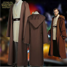 Hot Star Wars: Obi-Wan Kenobi Jedi Knight Cosplay Costume Custom-Made Full Suit
