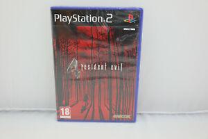 Jeu RESIDENT EVIL 4 pour Playstation 2 PS2 PAL NEUF sous blister !