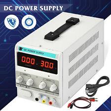 5A 30V DC Power Supply Adjustable Variable Dual Test Lab w/ LED Digital Display