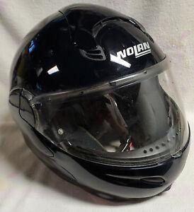Nolan N100 Motorcycle Helmet Modular Black size Large