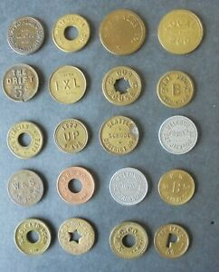 20 DIFF. SEATTLE WASH.   TRADE TOKENS