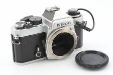 Nikon FE Silver Body MF-12 Excellent Condition #851