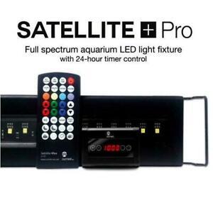 """CURRENT USA SATELLITE PLUS PRO 48""""-60"""" LED FRESHWATER AQUARIUM LIGHT W/CONTROL"""