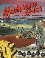 Caterpillar Maintenance Guide 1951 D311 to D17000