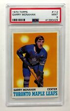 1970 TOPPS GARRY MONAHAN CARD #112 PSA 9 MINT CONDITION & WELL CENTERED