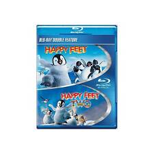 Happy Feet 1 & 2 0883929279944 With Elijah Wood Blu-ray Region a