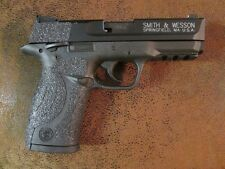 Black Textured Rubber Grip Enhancements for Smith & Wesson M&P .22 LR Compact