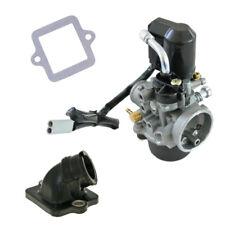 Neues Angebot12mm Vergaser Kit + Ansaugstutzen Piaggio Sfera NSL 50 / Sfera RST Typ C01