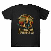 Darmok and Jalad At Tanagra September 1991 Vintage T-Shirt Men Black Cotton Tee