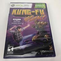 Kung Fu High Impact (Microsoft Xbox 360, 2011) Brand New Sealed