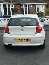 JC02DON Cherished Number Plate on Retention Certificate