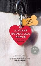 The Giant Book of Dog Names - NEW -  Laurie Bogart Morrow