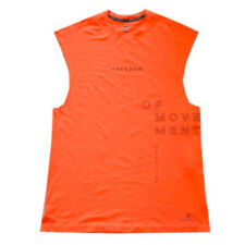 Under Armour HeatGear Mens Freedom Of Movement Perpetual Orange Vest L