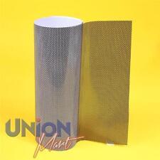 NERO PERFORATO FARO VINILE mesh TINTA-MOT legale - 3mtr x 1,06 Mtr