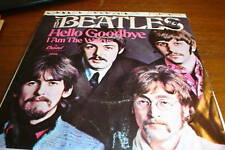 THE BEATLES 45 HELLO GOODBYE / I AM THE WALRUS PIC SLV