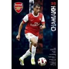 Arsenal Gunners Marouane Chamakh player poster Morocco new EPL Soccer England