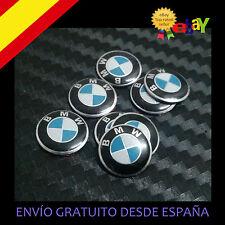 2X EMBLEMA LOGO PEGATINA ENGOMADA PARA LLAVE BMW 11 MM  MANDO LLAVE KEY
