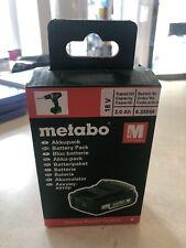 Metabo Akkupack 18 V 2,0 Ah Li Power Cas Akku System // Neu & Ovp