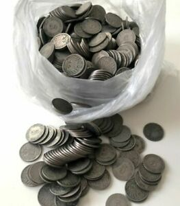 MUST SELL! 1000 GERMAN EMPIRE 5 PFENNIG COINS! ALL PRE-1900! EACH LOT HAS 3 DIFF