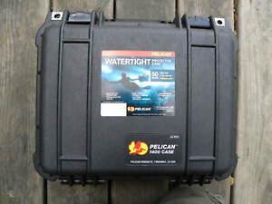 Pelican 1400 Camera Gun Hard Case  - Black