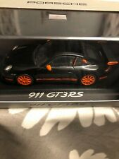 Porsche 911 GT3 RS Black / Orange Minichamps 1/43 Dealer Edition