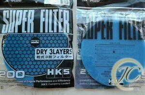 HKS SUPER POWER FLOW INTAKE HKS AIR FILTER REPLACEMENT FOAM BLUE EVO GTI-R SUPRA