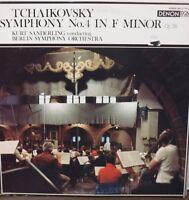 Tchaikovsky Symphony No 4 in F Finor Op 36 Kurt Sanderling 33RPM OX7137 10117LLE