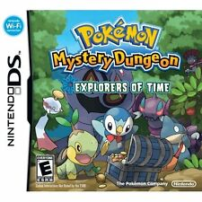 Pokemon Mystery Dungeon: Explorers Of Time For Nintendo DS DSi 3DS 2DS 1E