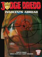 """2000AD ft JUDGE DREDD in """" INNOCENTS ABROAD """" G/NOVEL - EXCELLENT CONDITION"""