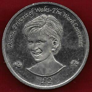 South Georgia & South Sandwich isl. 2002 2 pounds BU coin