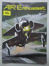 AIR ENTHUSIAST 7/72 KLU NF-5A B-1 BOMBER NAKAJIMA KI-44 VULTEE WESTLAND LYSANDER