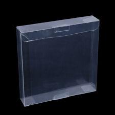 10pcs pour GB GBA GBC boîte claire en plastique boîte protecteurs manchon jeu vi