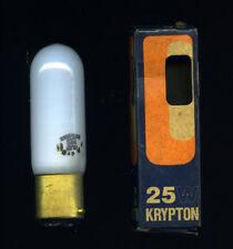 * CLAUDE Krypton 25 Watt./ 240 V. * Lampadina