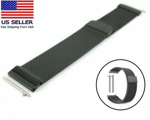 New Milanese Magnetic Stainless Watch Band Strap For Samsung Galaxy Gear 22mm