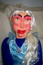 New listing New Professional Ventriloquist Dummy Figure, Rose, Carved By Daniel Cousino