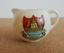 Crested Ware Arcadian Jug Dartmouth 4cm tall