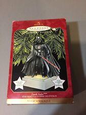 1997 Hallmark Keepsake Ornament Darth Vader, lights & voice NIB.