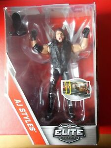 AJ STYLES SMACKDOWN LIVE FIGURE - FROM THE WWE ELITE COLLECTION