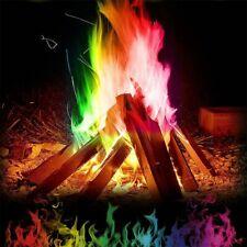 Mystical Magic Tricks Fire Coloured Flames Bonfire Sachets Fireplace Color R