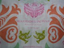 USA 2008 Warriors in Pink Ford Cares Scarf 100% Cotton 9x53 NWOT