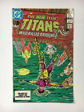 New Teen Titans #33  VF DC comic Perez 1983