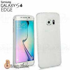 FUNDA CARCASA TPU  100% GEL TRANSPARENTE SLIM 0,3 mm PARA SAMSUNG GALAXY S6 Edge