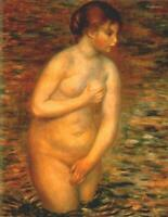 "high quality 24x36  oil painting handpainted on canvas ""nude in water """