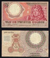 Olanda 25 gulden 1955 BB/VF  A-01