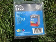 1 X Tesco E122 Compatible Epson T052 Stylus Printer Ink Cartridge - Tri-Colour