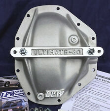 DANA 80 AXLE ALUMINUM PERFORMANCE GIRDLE, LPW ULTIMATE REAR SUPPORT COVER