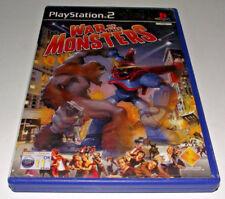 War of the Monsters PS2 PAL *No Manual*