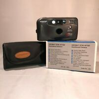Retro Film Camera Point Shoot 35mm Compact Flash Vintage Style Fixed Focus 1990